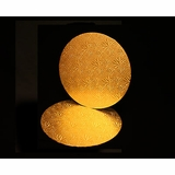 216 - 14 inch Cake Round, Gold Foil Single Wall Corrugated