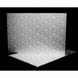 225 - Full Sheet Cake Board, Silver Foil Covered Double Wall Corrugated
