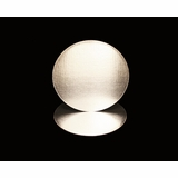 2730 - 8 Inch Cake Round, Silver Foil Single Wall Corrugated Cake Board