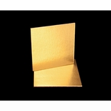 2735 - 9 Inch Cake Board, Gold Foil Single Wall Corrugated