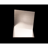 2736 - 9 Inch Cake Board, Silver Foil Single Wall Corrugated