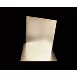 2740 - 10 Inch Cake Board, Silver Foil Single Wall Corrugated