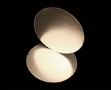 2746 - 14 Inch Cake Round, Silver Foil Single Wall Corrugated Cake Board. H08