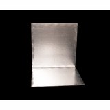 2748 - 14 Inch Cake Board, Silver Foil Single Wall Corrugated