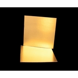 2751 - 16 Inch Cake Board, Gold Foil Single Wall Corrugated