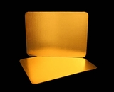 2755 - Half Sheet Cake Board, Gold Foil Single Wall Corrugated. H12