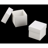 "3059x2889 - 4"" x 4"" x 4"" White/White Two Piece Simplex Box Set, without Window"