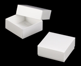 "3060x2889 - 4 oz Candy Box Set 4"" x 4"" x 1 3/4"" White/White Simplex Box Set, without Window"