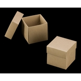 "3069x2893 - 4"" x 4"" x 4"" Brown/Brown Piece Simplex Box Set, without Window"