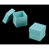 "3102x2891 - 4"" x 4"" x 4"" Diamond Blue/White Piece Simplex Box Set, without Window"