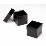 "3103x2890 - 4"" x 4"" x 4"" Black/White Piece Simplex Box Set, without Window"