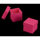 "3104x2877 - 4"" x 4"" x 4"" Pink/White Piece Simplex Box Set, without Window"