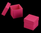 "3104x2877 - 3/4# Candy Box Set Pink/White 4"" x 4"" x 4"" Simplex Box Set, without Window"
