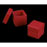 "3105x2906 - 4"" x 4"" x 4"" Red/White Piece Simplex Box Set, without Window"
