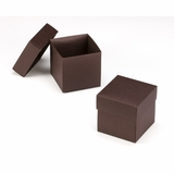 "3106x2892 - 4"" x 4"" x 4"" Chocolate/Brown Piece Simplex Box Set, without Window"