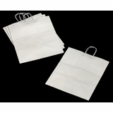 3253 - Grande White Shopping Bag with Handle 16 x 11 x 18 1/4 - 100ct