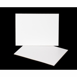 3395 - 12 x 9 Inch Cake Board, White Single Wall Corrugated