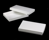 "3433x3446 - 9 1/2"" x 6"" x 1 1/4"" White/White Two Piece Simplex Box Set, without Window"