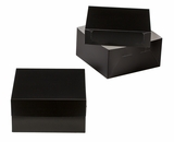 "3506x3507 - 12"" x 12"" x 6"" Black/White Lock & Tab Box Set, without Window, 50 COUNT. A16xA10"