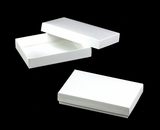 "3523x3527 - 7"" x 4 1/2"" x 1 1/4"" White/White Two Piece Simplex Box Set, without Window. B06xB05"
