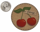 "3564 - 2 1/2"" Cherry Flavor Label, 50 Count"