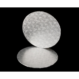 3575 - 14 inch Cake Round, Silver Foil Double Wall Corrugated