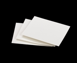 "3796 - 4"" x 5"" White Grease Resistant Cookie Card"