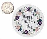 "3798 - 2 1/2"" Mother's Day Flowers Favor Label, 50 Count"