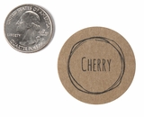 "3808 - 1 1/2"" Cherry Flavor Label, 50 Count"