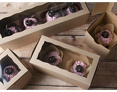 Natural Brown Cupcake Boxes