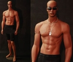 Masculine African-American Male Mannequin - Andrew!