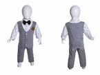 Standing 'Egghead' Toddler Display Mannequin