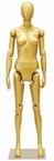Up-Scale Gold, Poseable, Female Mannequin Display