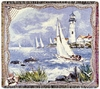 Morning Sail Throw Blanket