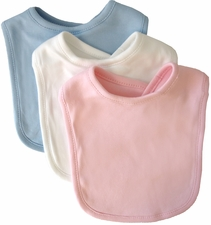 100% Cotton Interlock Infant Bib