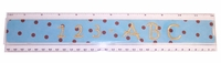"Acrylic Embroidery Blank 12"" Ruler"