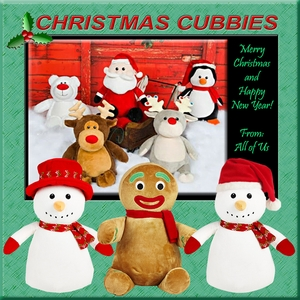 Christmas Embroiderable Baby Cubbies