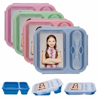 Clearance Priced - Create Your Own Silicone Lunch Box