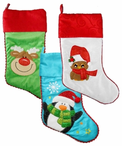 "Cubbie Christmas Stockings - 17""   - $6.95 each"