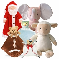 Plush Embroiderable Creature Collections