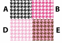 Houndstooth - QuickStitch Embroidery Paper
