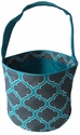 New Quadrefoil Print Bucket Tote