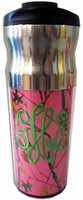 Clearance priced - Regal Stainless Steel Tumbler with flip top lid - 16 oz.