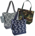 **Door Buster Sale** - Trendy Tote Bags - Various Patterns
