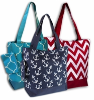 **Clearance Priced** - Trendy Tote Bags - Various Patterns