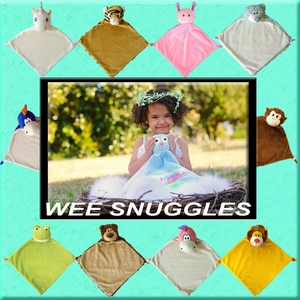 Clearance Priced - Wee Snuggle Blankies