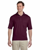 50/50 Jersey Pocket Polo with SpotShield�
