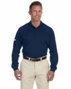 Men's ClimaLite� Tour Piqu� Long-Sleeve Polo