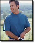 Men's Dri-Fast� Advantage� Mesh Mock