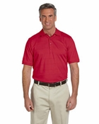 Men's EZ-Tech Jersey Textured Stripe Polo